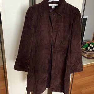 Corduroy car coat, 6